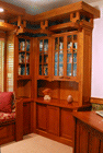 Kitchens, Offices & Libraries: Arts & Crafts Style Office Suite