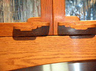 Kitchens, Offices & Libraries: Arts & Crafts Style Office Suite, Handle Detail